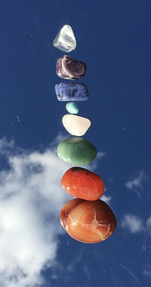 About me. Chakra stones